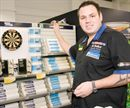 DULUX DECORATOR CENTRES IN BALLOO, BANGOR, SCORE A BULLSEYE WITH ADRIAN LEWIS